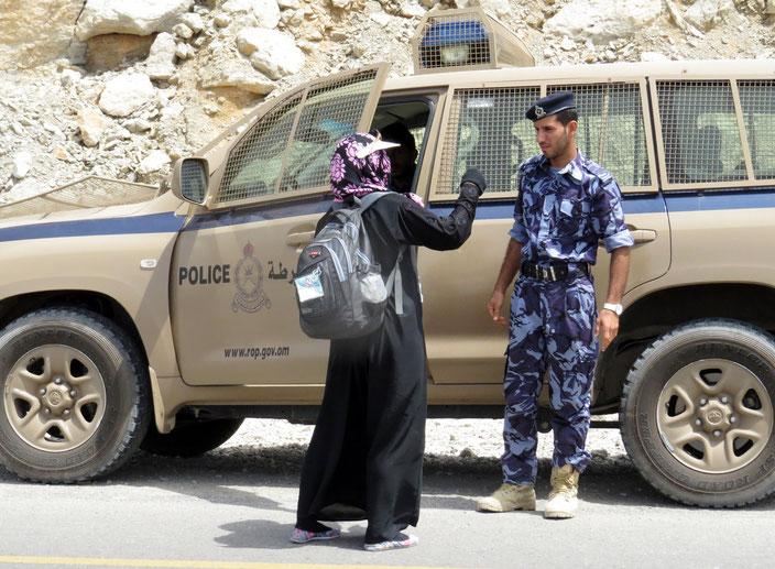 Musandam Oman Polizei