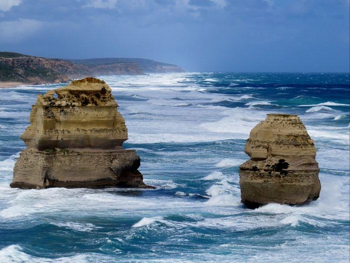 grenzenlosunterwegs Australien Sturm 12 Apostel