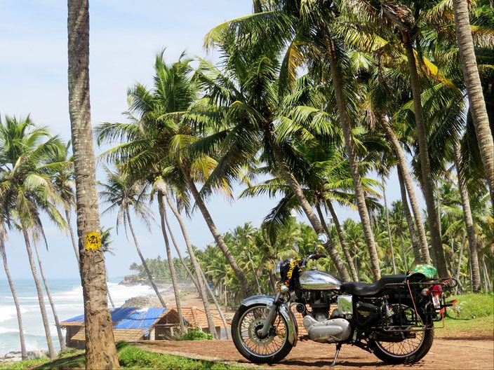 Royal Enfield Kerala grenzenlosunterwegs