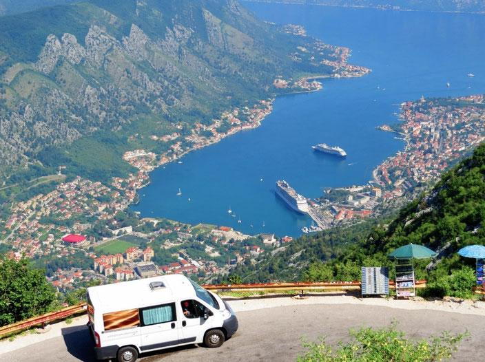 Camper Balkan Montenegro grenzenlosunterwegs