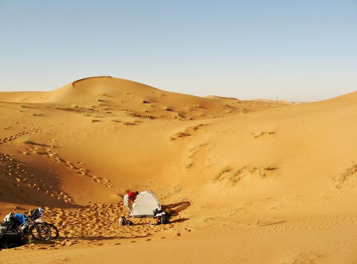 Wüste grenzenlosunterwegs