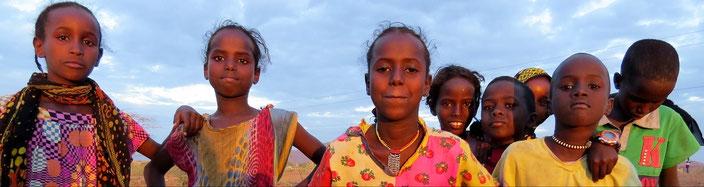 Äthiopien Kinder grenzenlosunterwegs