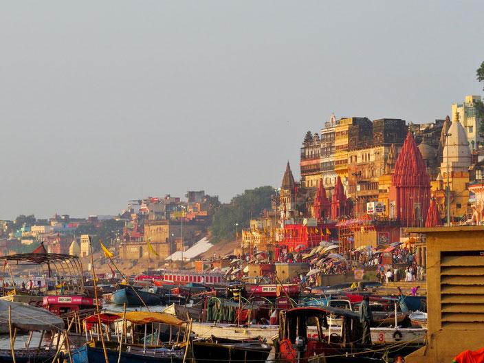 Varanasi grenzenlosunterwegs