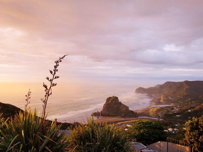 Neuseeland Piha grenzenlosunterwegs