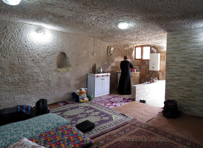 Iran grenzenlosunterwegs Höhlenwohnung