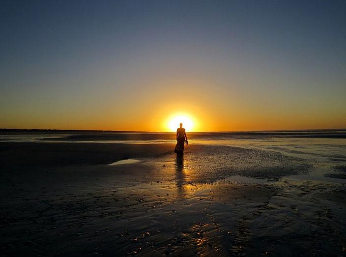 grenzenlosunterwegs Sonnenuntergang Westküste Australien