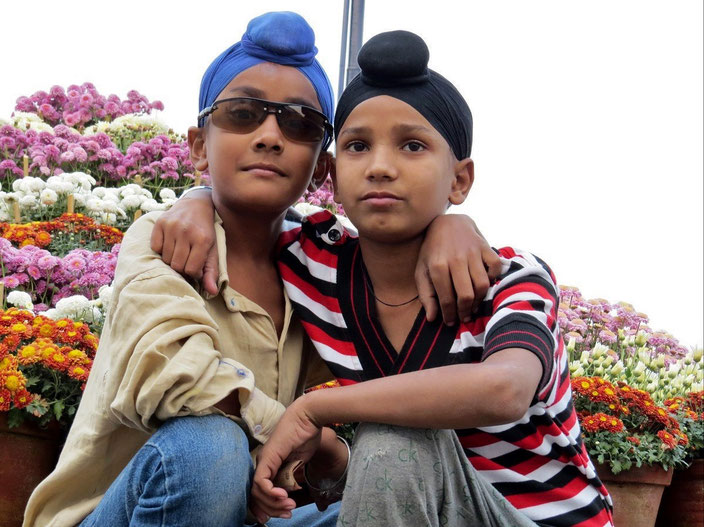 2 kleine Sikh