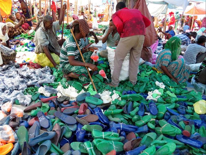 Äthiopien Schuhe grenzenlosunterwegs