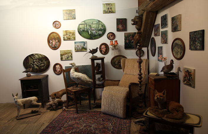 installation living room, westwendischer kunstverein, 2016