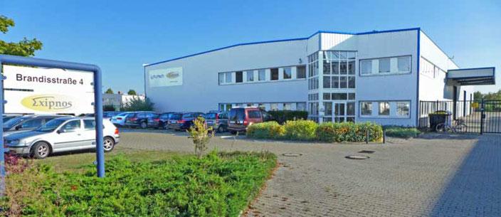 Exipnos GmbH Merseburg, Firmengebäude © Exipnos 2016