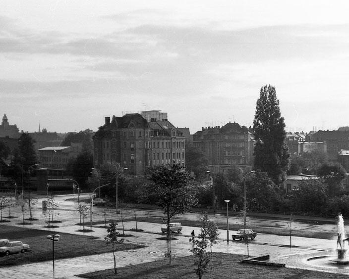 Kurt-Fischer-Straße, Karl-Marx-Stadt, Chemnitz, 80er, 80ies, DDR, Deutsche Demokratische Republik,