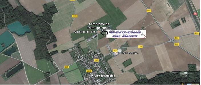 Aeroclub de Sens - Aérodrome de Pont-Sur-Yonne - LFGO