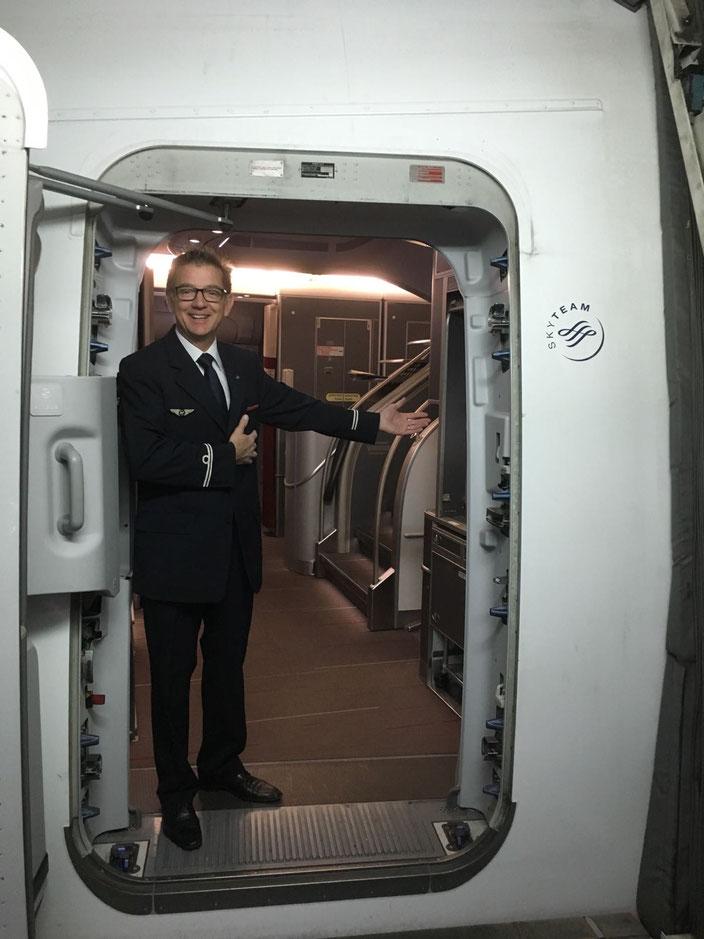 bienvenue à bord ...  heureux de vous accueillir