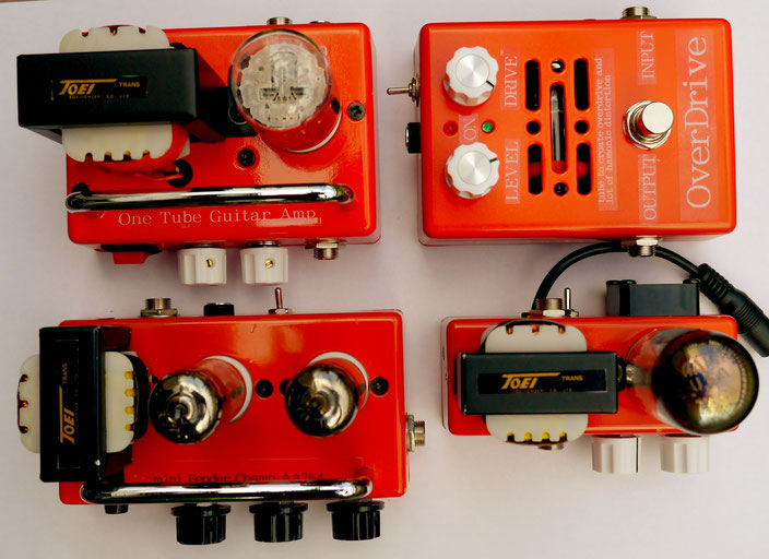 Build A Vacuum Tube Guitar Amplifier & Vacuum Tube Overdrive Pedal