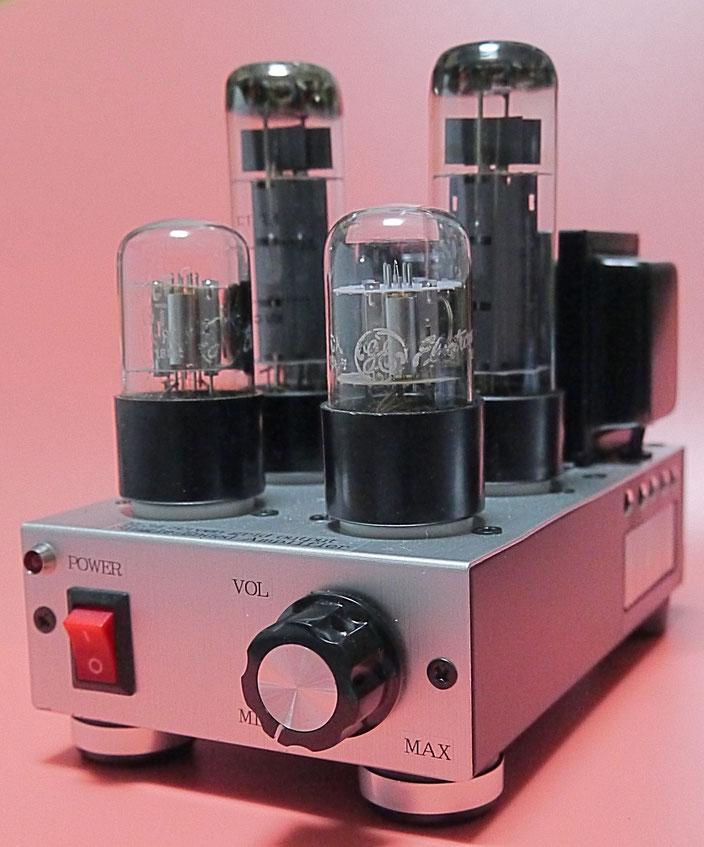 EL34真空管アンプ自作 DIY-Audio EL34 Single-Ended vacuum tube Amplifier 真空管ミニオーディオアンプ自作