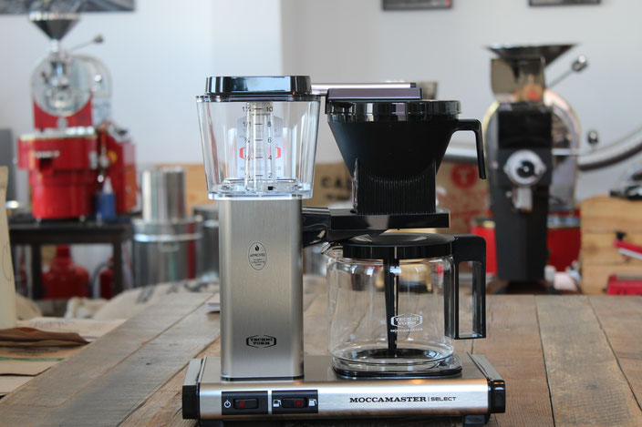 Moccamaster KBG Select, Kaffee Filtermaschine, zu kaufen in der Kaffeerösterei Radebeul
