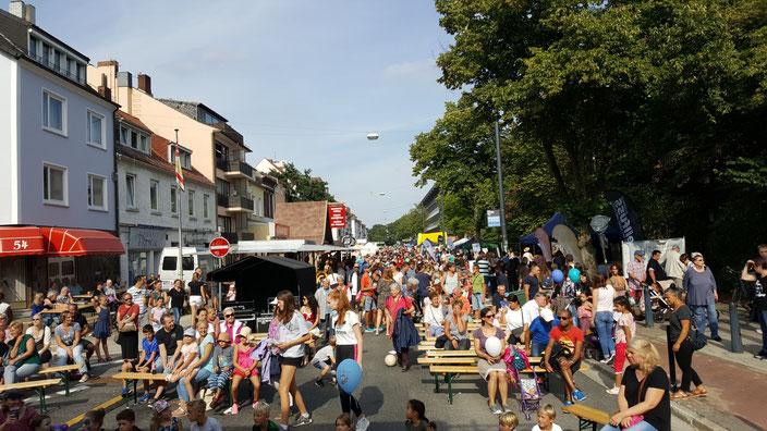 Das Findorffer Sommerfest wird von den Geschäftsleuten organisiert