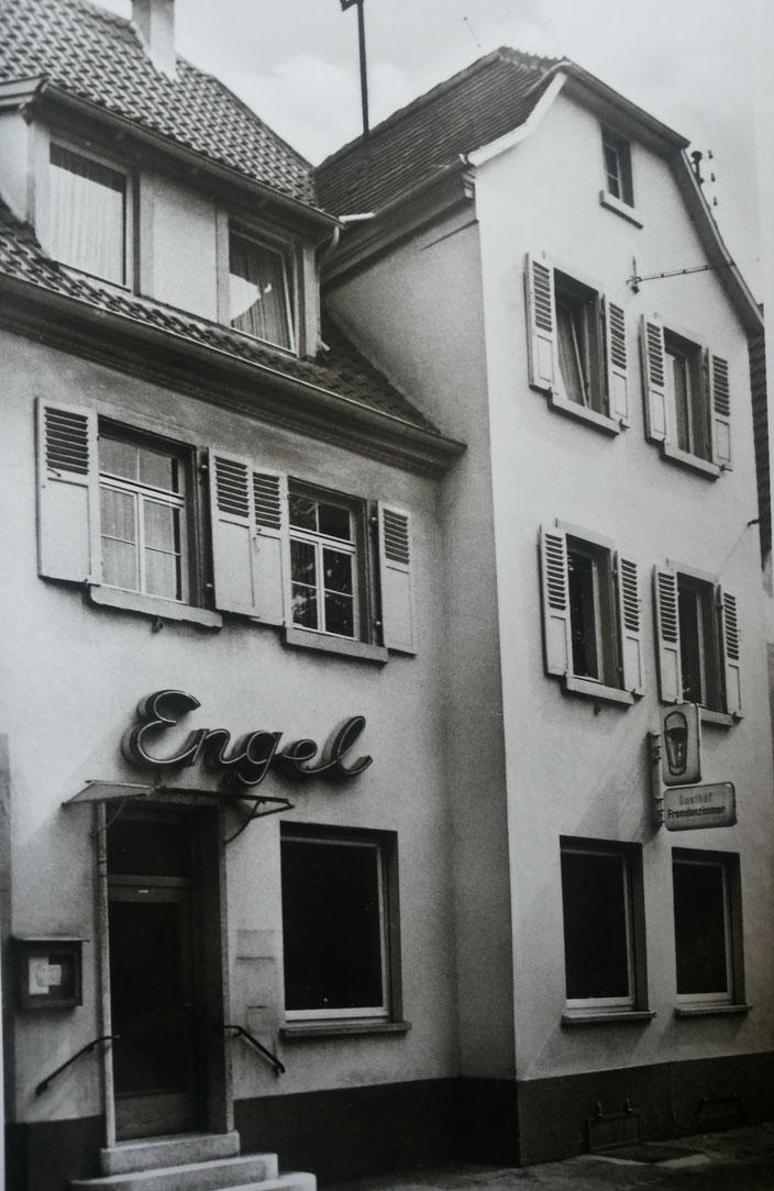 Gasthaus Goldener Engel Seckenheim früher