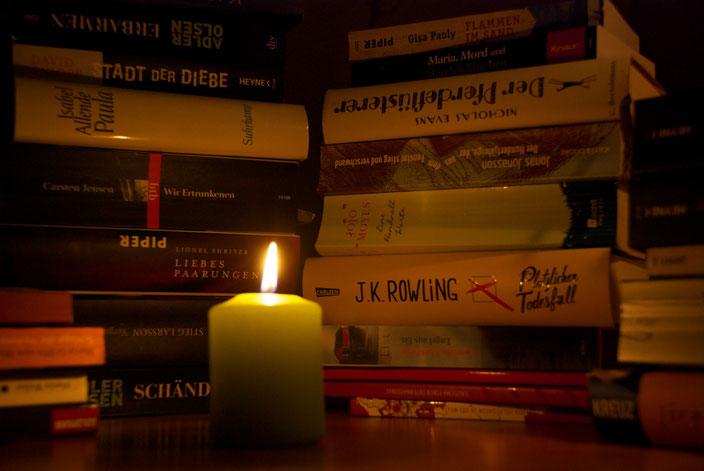Heute gibt es etwas zum schmökern! Möchte so gerne mehr lesen.