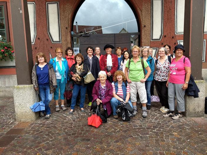 Die Damen der EVG in Besigheim