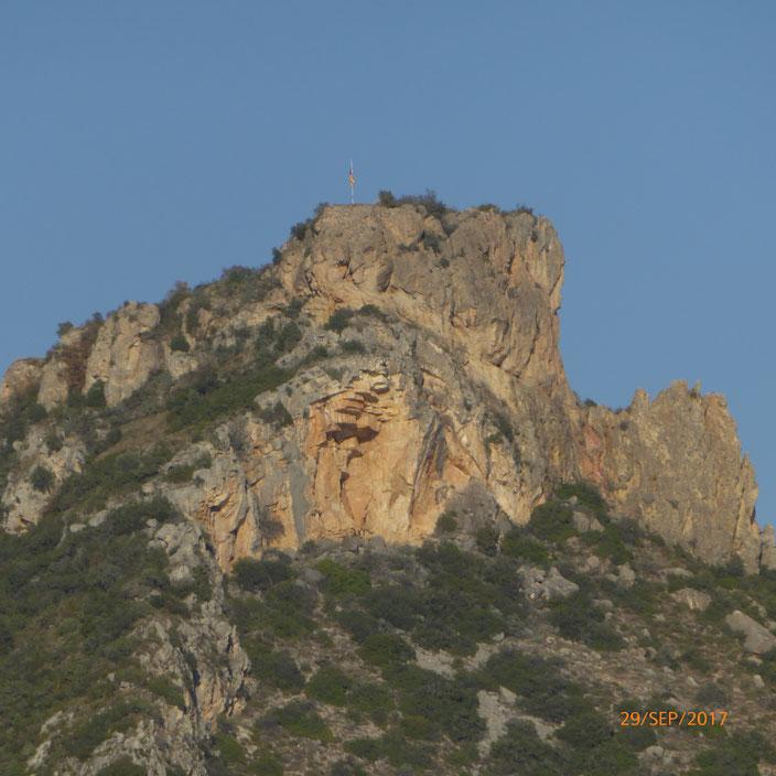 Letzter Tag in Spanien mit schöner Aussicht vom CP aus