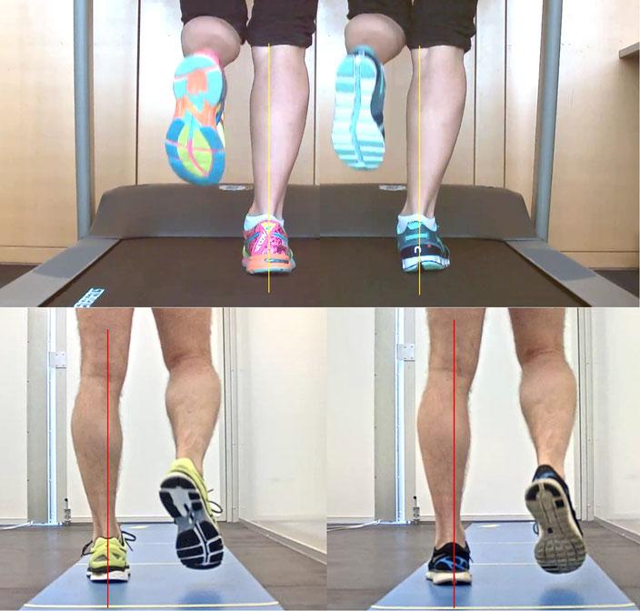 Laufschuhvergleich auf dem Laufband und der Gehstrecke beim Spezialisten