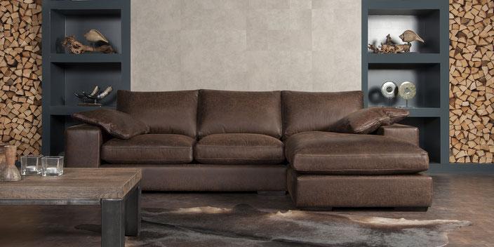 Perfecte combinatie van uitstraling en comfort.       www.urbansofa.nl