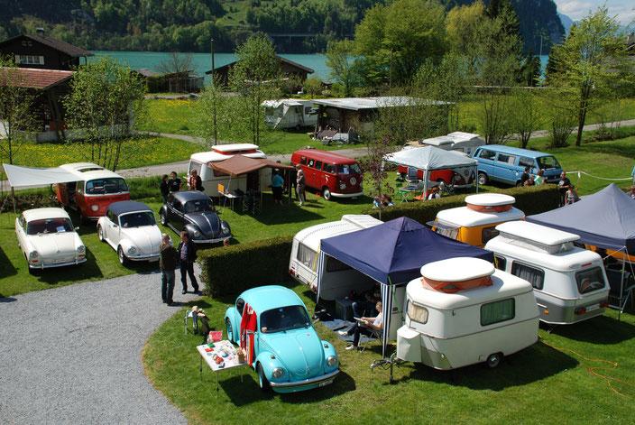 Käfertreffen Gelände Aussichtsturm Camping Aaregg 2
