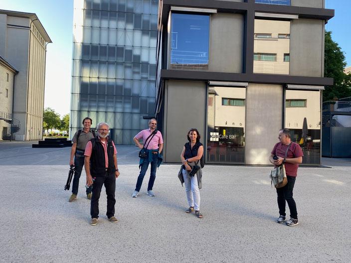 Einige unserer Mitglieder während einem Fotoausflug nach Bregenz