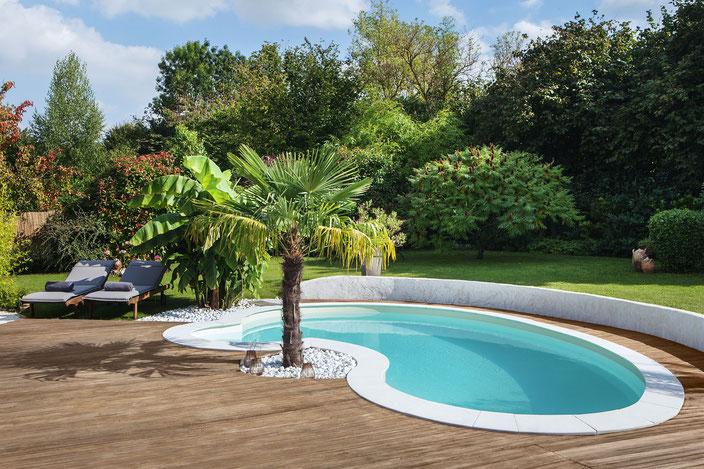 Schwimmbecken Celine, Garten Schwimmbecken, Garten Pool, Garten, Pool, Schwimmbecken