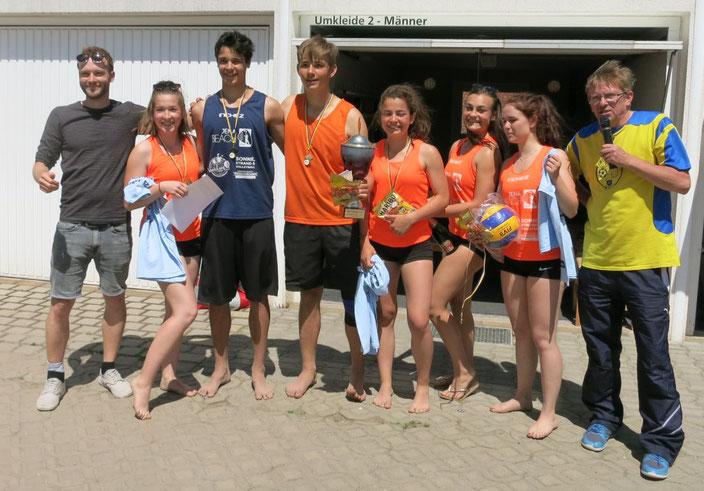 Pokalsieger  Otto Schott Gymnasium 1