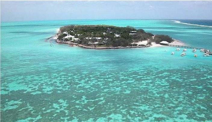 ヘロン島の全景写真