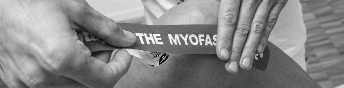 Tape Myofasziales Taping Faszien Massage