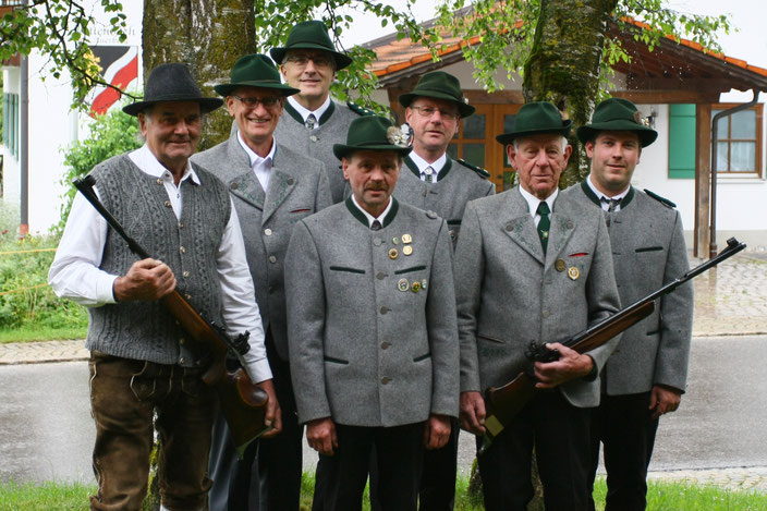 Alle Schützenmeister