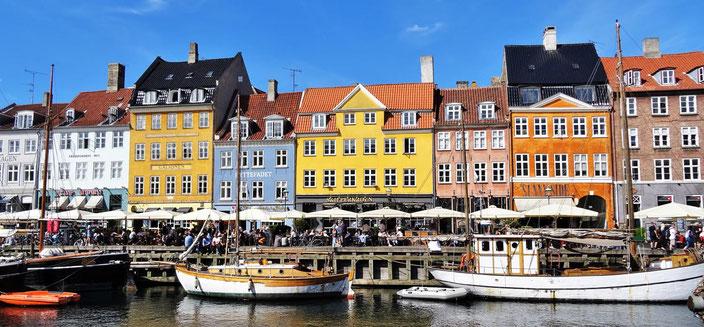 Kopenhagen - Kanal Nyhavn