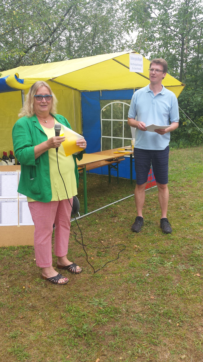 Begrüßung durch Frau Bruer, Gemeindevorstand Seeheim-Jugenheim