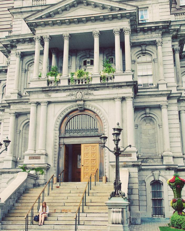 Das Montréaler Rathaus