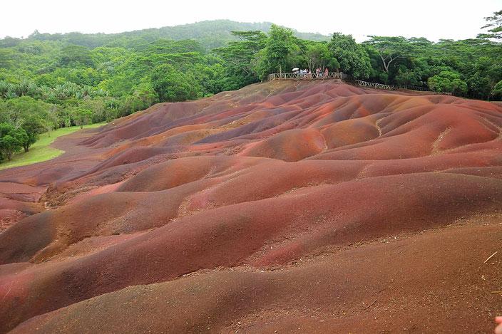 Seven Coloured Earth Chamarel Mauritius Sehenswürdigkeiten