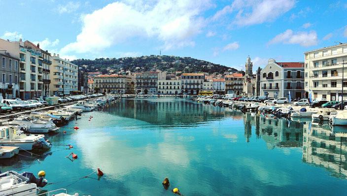 Mittelmeer Frankreich Venedig Sète