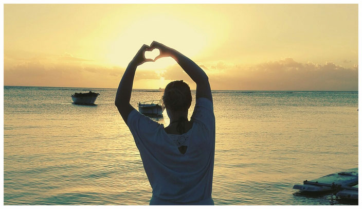 Mauritius Sonnenuntergang Trou aux Biches