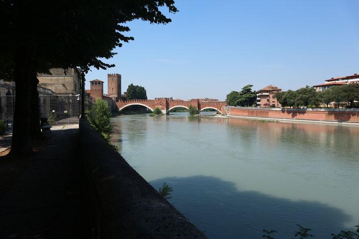 Ponte de Chastelvecchio Verona Sehenswürdigkeiten TOP