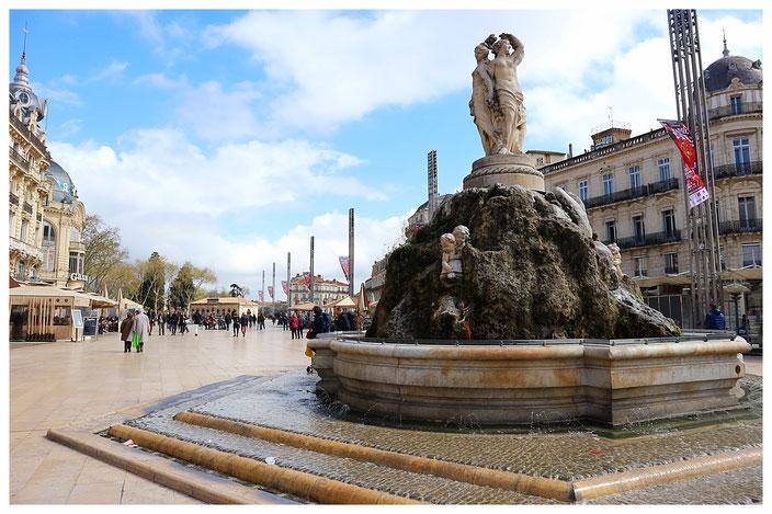 Montpellier Ope Place de la Comedie