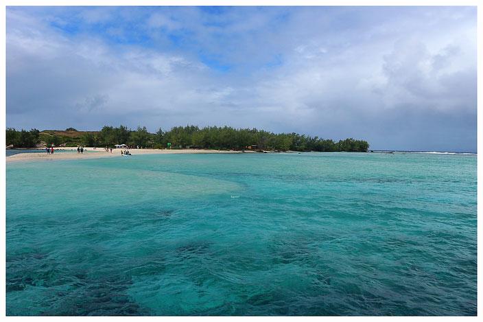 Gabriel Island Katamaran Ausflug Mauritius Norden