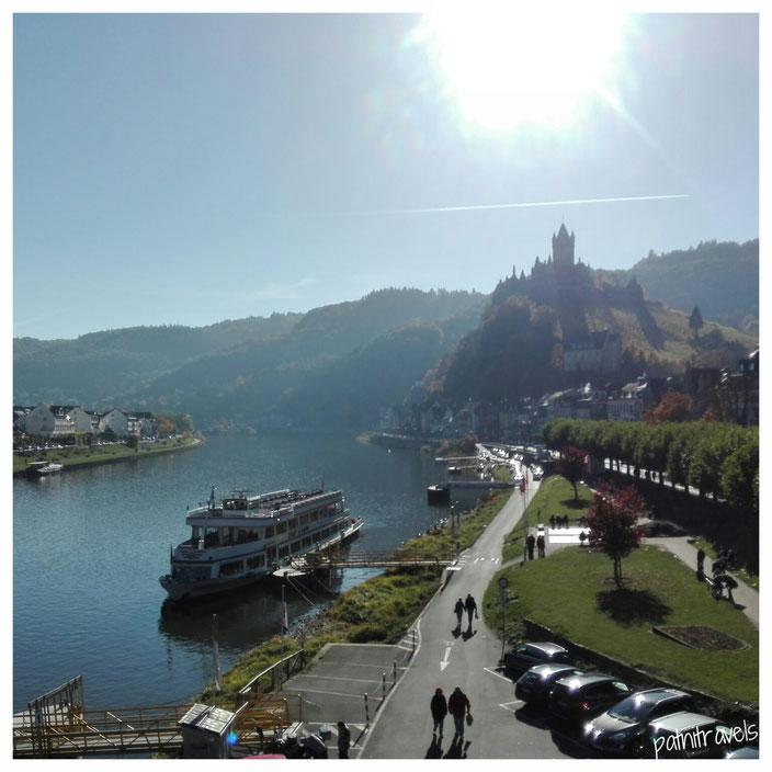 Die wunderschöne Aussicht auf die Altstadt und die Mosel