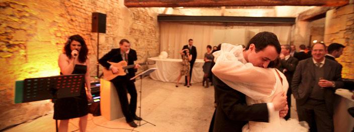 cocktail mariage guitare et voix