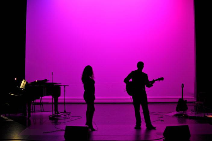 duo chanteuse musicien