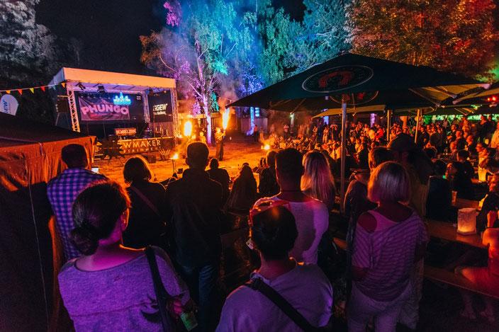 Das Phungo Festival 2017 kam gut an und lockte viele Menschen nach Pfungstadt in ehemalige Freibad