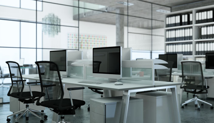Büro Service der GBU Service GmbH für eine makellose Reinigung