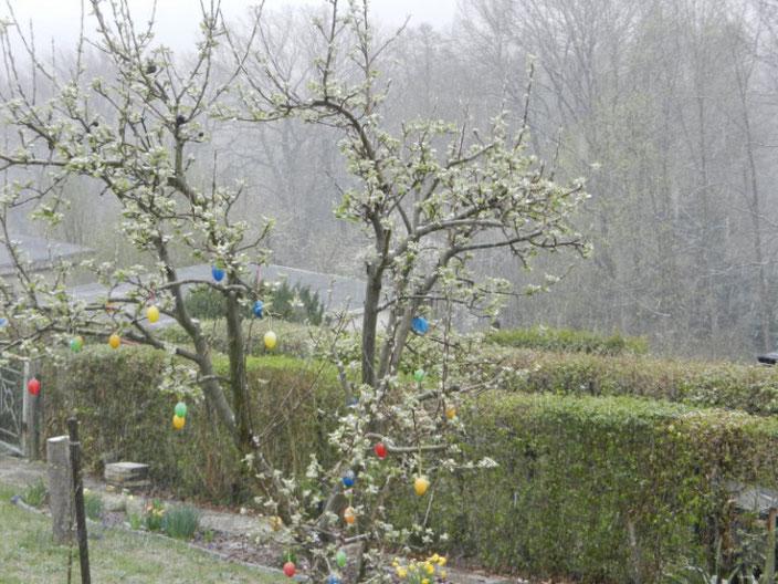 Wasseraufdrehen bei Schneefall und Null Grad