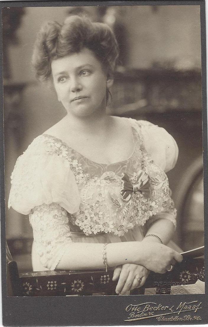 Margarete Böhme, Berlin 1905